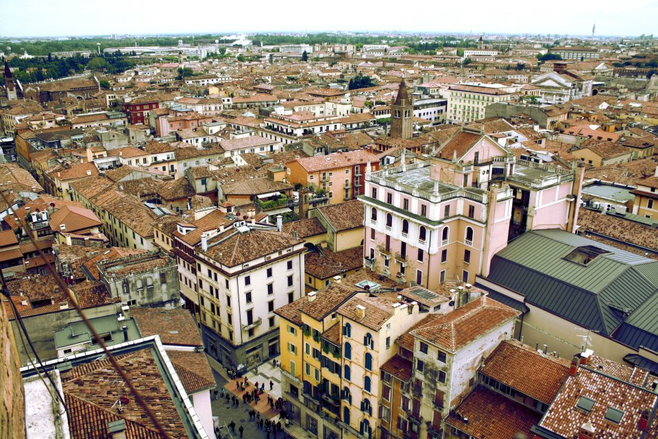 Vista aérea de Verona